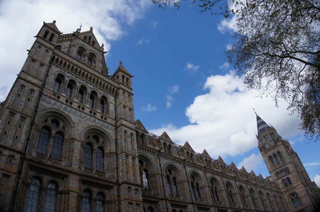 ロンドン自然史博物館©ぱんたれい