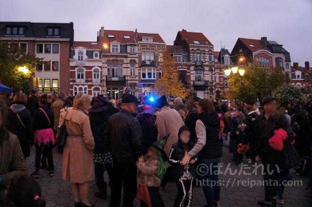 ベルギーのハロウィン6©ぱんたれい