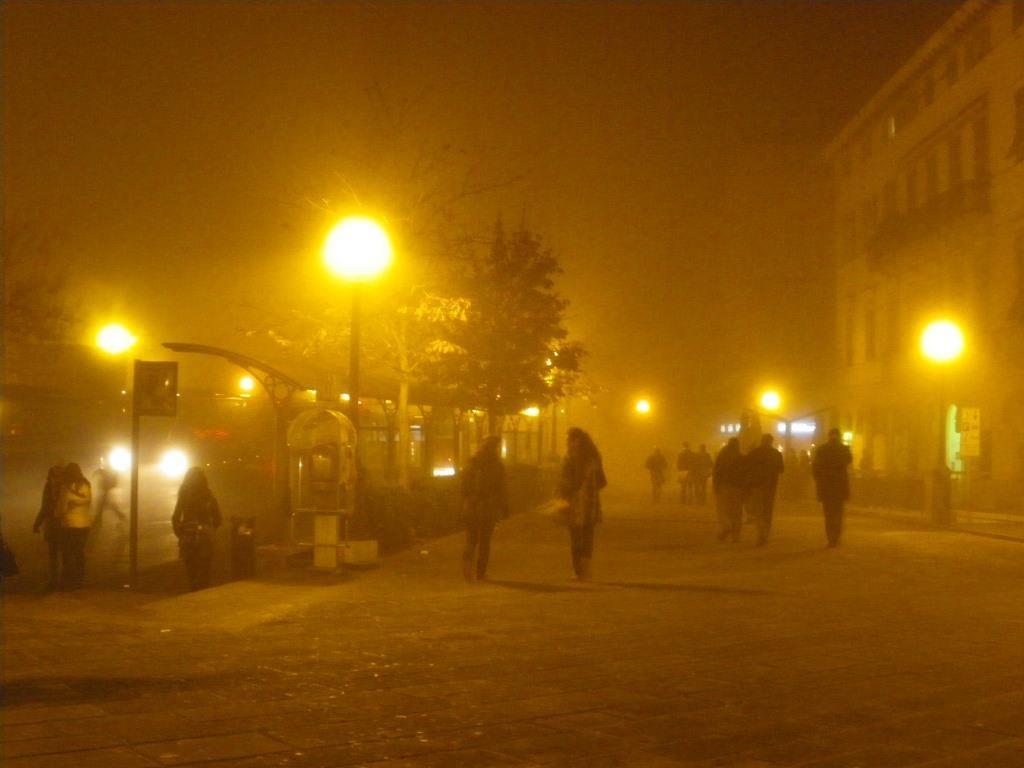 イタリア冬の夜©ぱんたれい